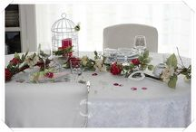 """table """"Roses anglaises"""""""