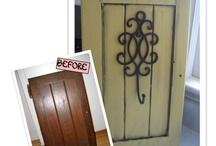Cabinet Door Ideas / by Jerald Locke