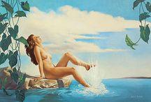 Romantic Realism Art