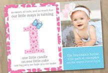 Isabella 1st birthday ideas / by Irene Padilla Lopez
