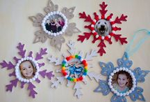 Holidays - Christmas: Kids ornaments and crafts