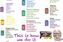 ESSENTIAL OILS / by Jean Brown