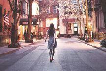 lonely walks...