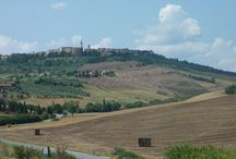 Pienza / Situated in the region of Siena the lovely town of Pienza was declared a UNESCO World Heritage Site in 1996