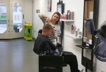 Haircuts / Results & In Action photo's of our work @ the salon