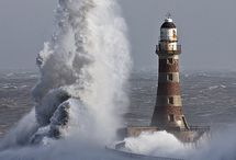 Lighthouses / Those blinking lights that have warned so many sailors of rocky shores.