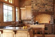 cabin - kitchen