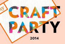 Etsy Craft Party • 2014