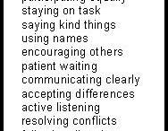 Social Skills liste