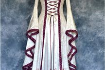 Medieval and Pagan gowns