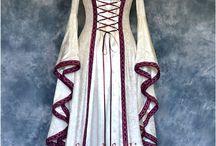 Vestidos Medievais e Religiosos