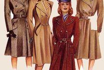 płaszcze 1940s