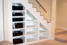Basement Ideas / Getting ready to finish the basement! / by Amber Dougan