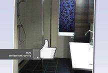 Gerealiseerde badkamers / Badkamers ingericht met Sealskin producten