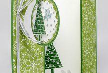 Christmas Cards double gate fold