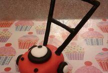 Lawnmower Cake