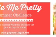 GYPO Style Challenge | Summer 2014 / Style board for the participants of the Style Me Challenge for Summer 2014 at Get Your Pretty On.  #GYPOStyleMe