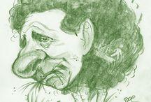 sketches / Az utóbbi idők ecset és ceruza portréi