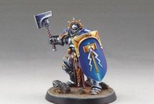 Age of Sigmar - Stormcast Eternals / Age of Sigmar | Order Grand Alliance | Stormcast Eternals | Collection of miniatures painted by modellers from all over the world.