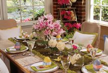 Easter Tablescapes / by Renee' Odom