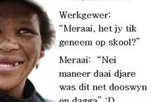 Afrikaans jokes