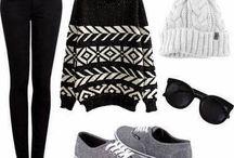 The clothes / Des habits assez sympa