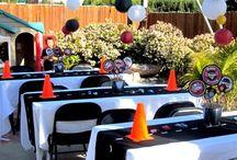 Festa carros / Ideias festa carros