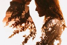 Double Exposure Couples