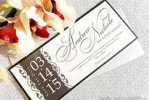 Save the Dates / Unique and stylish handcrafted save the dates. Fully customizable and assemble.