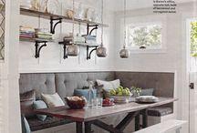 Veronica Gardens bench kitchen