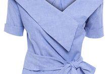 Modas de blusas