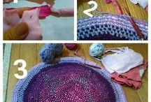 Örgü,dikiş,nakış,kumaş. / El emeklerim,severek keyifle yapıp kullandığım el işlerim ve başkalarından beğendiklerim.
