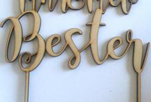 DIE NESSIE - LASER CUTTING / Laser cutting, engraving, gifts and décor for weddings, special occasions and home