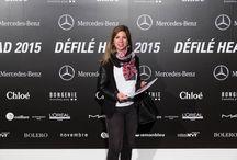 """Retour sur le DEFILE HEAD 2015 / Une nouvelle génération de créateurs est née à la HEAD ! Un défilé éblouissant et frais: une nouvelle génération de créateurs est née à la HEAD ! Lucie Guiragossian s'est vu décerner le Prix HEAD Bachelor Bongénie doté d'une enveloppe de 5'000 CHF. Quant au Prix HEAD Master Mercedes-Benz doté de 10'000.-, il est allé à Lucille Clotilde Mosimann pour sa collection """"Les cheveux au vent, faussement Madame""""."""