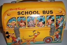 COLLECTIBLE LUNCH BOXES / OLD LUNCH BOXES / by PHOTOS  ARE  US  !