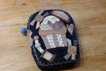 Pattern from Malgorzata Jenek-Lugowska but made by me / Nice pattern from Malgorzata Jenek-Lugowska, made in my own way.