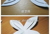 Kirigami flower