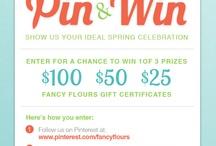 FANCY FLOURS SPRING PIN & WIN / by Lisa Flynn