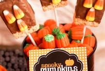 Spooky Time/ Crunchy & Krispy Treats / by Cindy Page
