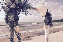 Wedding arbors and trellises