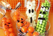 "The Spirits are up to no good / ^0^  cast a spooky spell with halloween tricks and treats. I love Halloween my favorite holiday of all.  I have a witches night out party every year.  check out my pin ""witches Night Out""  ^0^ 