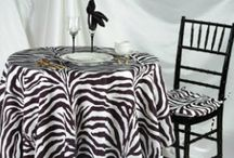 Printed fabric tablecloths / Here are some of the printed designs we offer on our custom tablecloths.