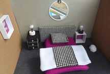 DIY dollhouses / dollhouse design, dollhouse furniture