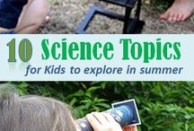 Science / What kid doesn't love science experiments!? Can't wait to try some of these science activities with my boys. / by Amy Pessolano | Umbrella Tree Cafe