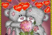 Mé upravené obrázky / Jsou to obrázky všeho druhu .....láska, den, noc, odpoledne, narozeniny, moje osobni atd...
