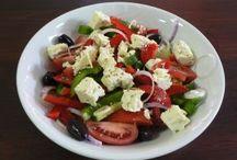 Greek food!YUMMMMY!