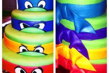 ninja turtle theme for eli's birthday