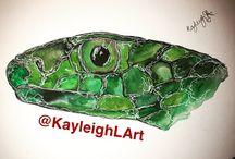 Watercolour artwork KayleighLArt