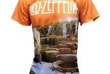 Led Zeppelin / Hey there zeppelin fans. We have some awesome T-Shirts to help you share the love for rock.