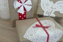 Creative: Gift Wrapping / #Creative #Gifts #Wrapping #Materials #DIY #Ideas #Gift Wrapping #Pretty #Simple #Luxurious